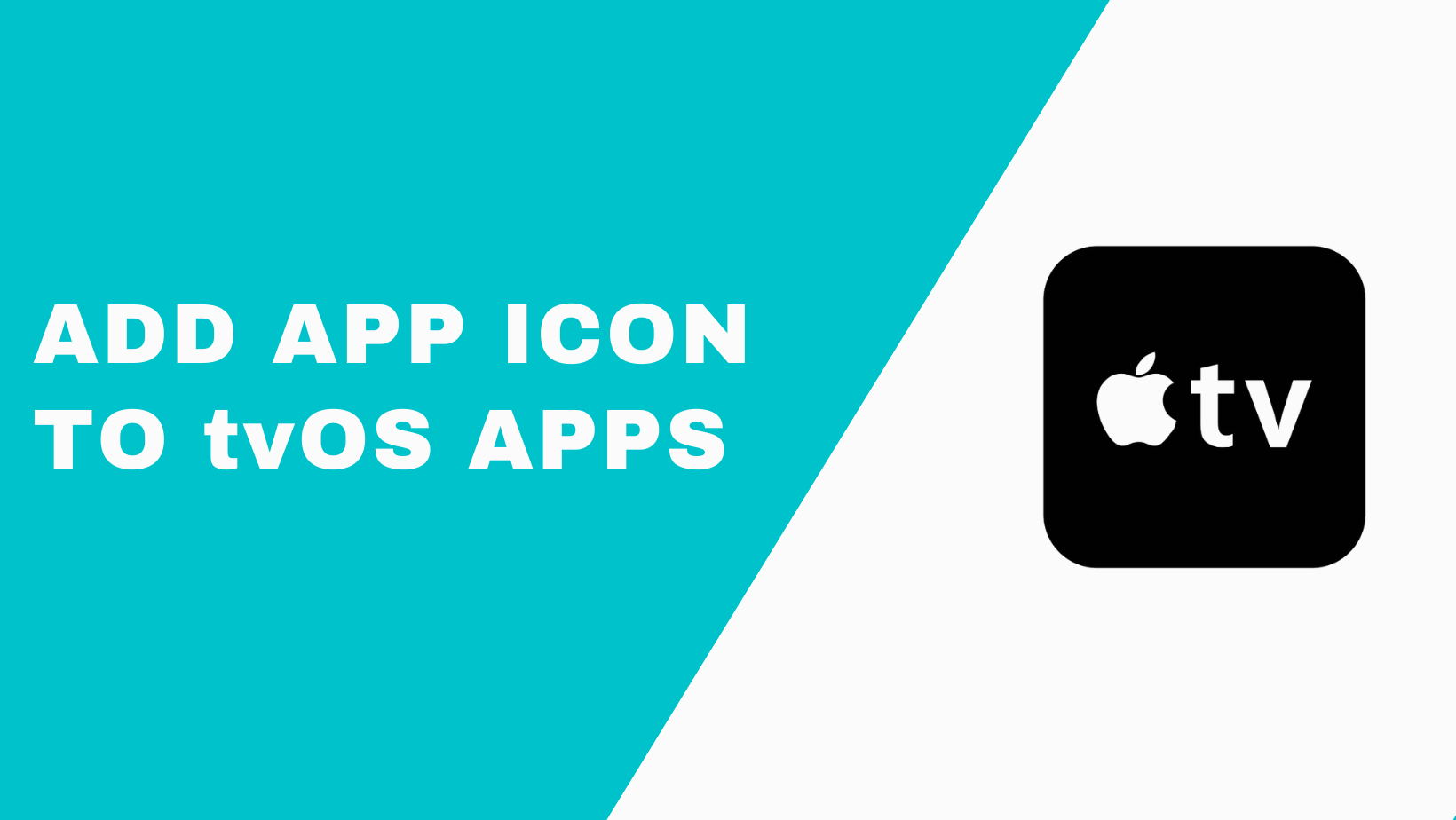 How To Add An App Icon And Launch Screen Image In Tvo